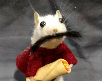 Enjoy your burrito taxidermy Mouse