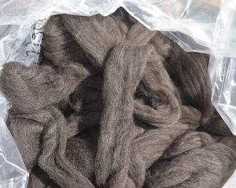 Alpaca/ShetlandxCormo Combed Top - 2, 4  or 8 ounces