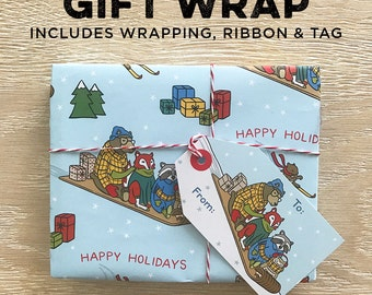 Gift Wrap Option, Includes Wrap, Ribbon & Tag (Item 9998)