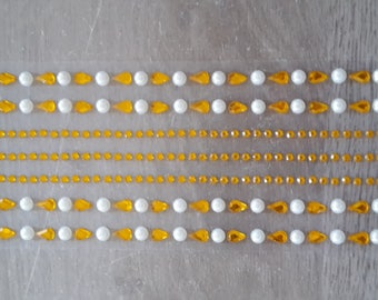 Water drop rhinestone beads