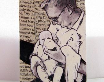 Dad, ACEO print