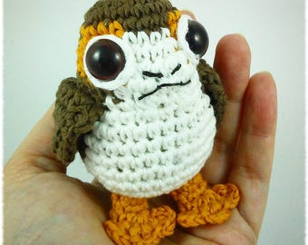 ENGLISH - Porg amigurumi pattern