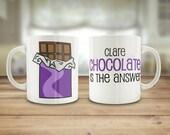 Chocolate mug, Chocolate ...