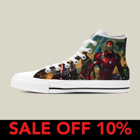 652f95e7567 America High War Converse Shoes Infinity Thanos qwp4F6E --notebook ...