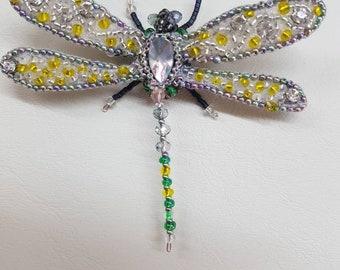 Handmade Brooch Dragonfly