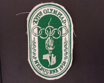 Patch Melbourne 1956 Summer Olympic Games - Australia - Victoria