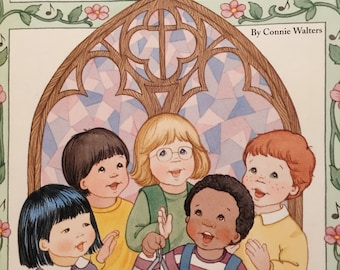 Sing -Along Christian Songs Connie Walters 1996 Children's Songs Sunday  School