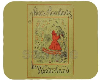 Mouse Pad; Alice'S Adventures In Wonderland 1898 Edition