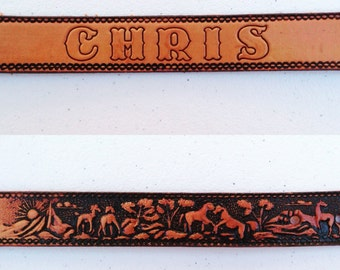 Vintage Kid's Western Belt