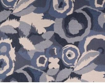 Blue Ivory Geometric Decorative Pillow Cover