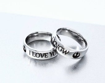 Star Wars Wedding Ring Etsy Nz