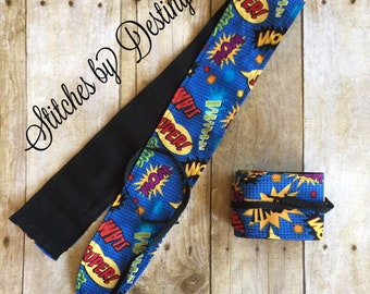 Wrist Wraps for weight lifting, cross fit, gym (CUSTOMIZABLE)