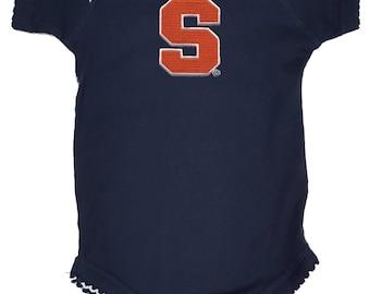 Syracuse Orange Pico Baby Girl Bodysuit