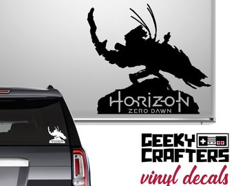 Thunderjaw Decal - Horizon Zero Dawn - For Car, Laptop, Tablet, Chromebook