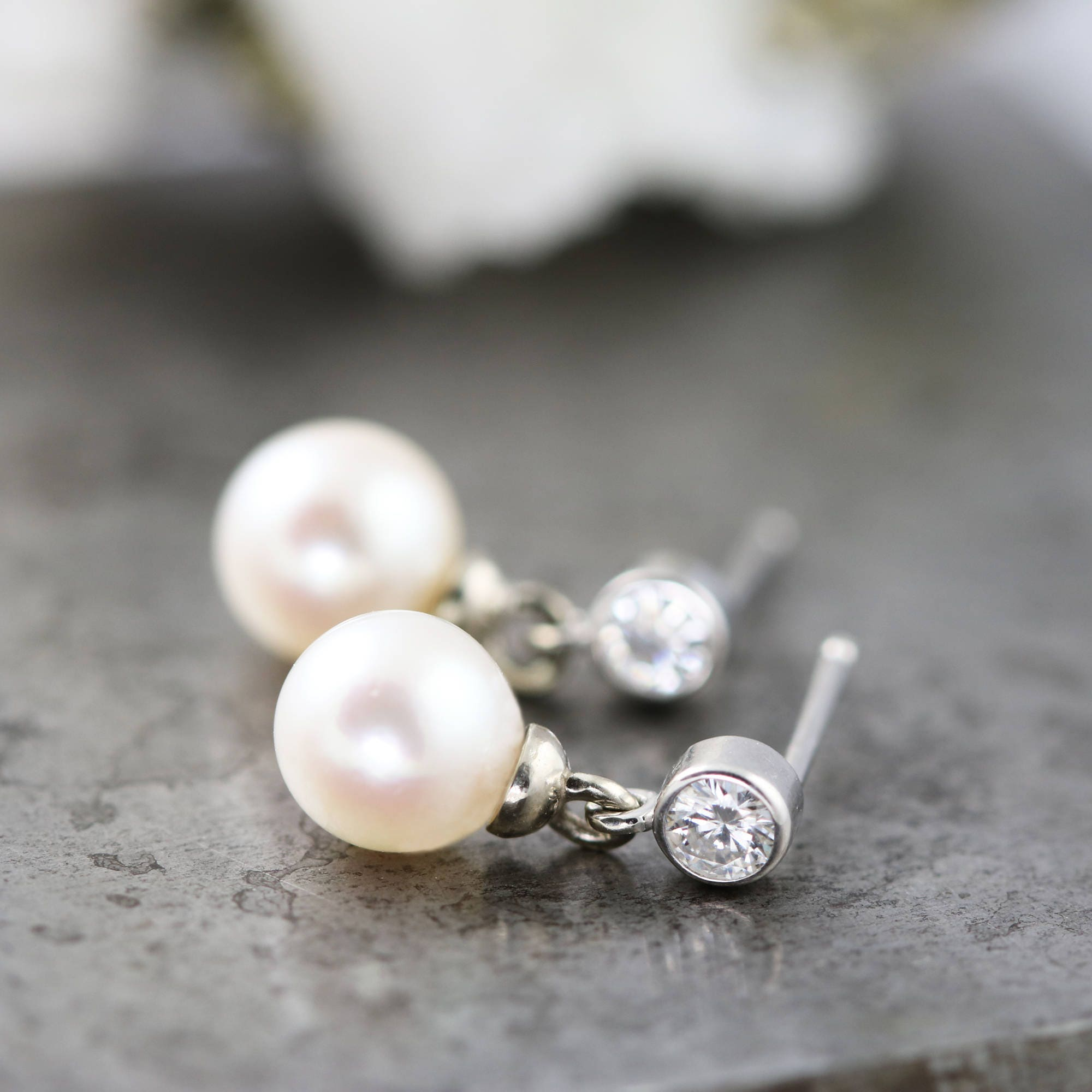 white moissanite gold il listing and fancy earrings pearl everyday zoom fullxfull