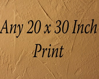 Any Photo In My Shop In A 20x30 Inch Print
