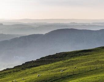 View from Slieve Gullion, Northern Ireland