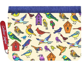 Selina-Jayne Birds Limited Edition Designer Small Purse