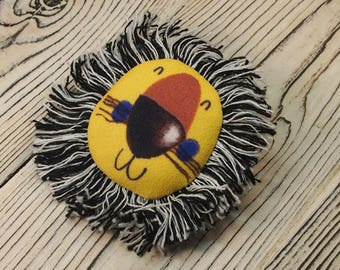 lion pin Zodiac pin  leo zodiac leo pin Animal brooch lion jewellery Cute Lion pin Cute Leo brooch Woodland brooch Leo pin Animal brooch