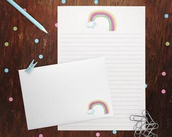 Little Rainbow Letter Writing Set