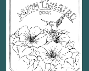 Color A Creation 'The Hummingbird Book'  PDF