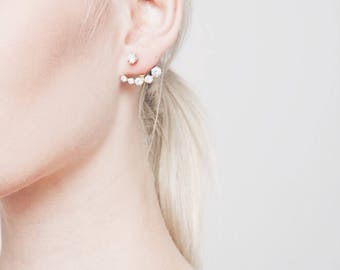 Crystal Points Earrings_ Gold/Rose Gold/Silver