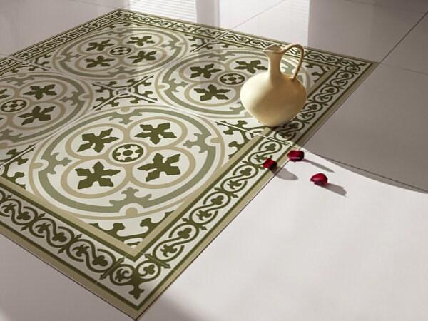 Traditional Tiles Floor Tiles Floor Vinyl Tile Stickers