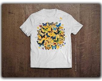 T-Shirt 'Butterflies'