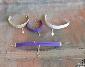 Double Strap Bracelets with Charms
