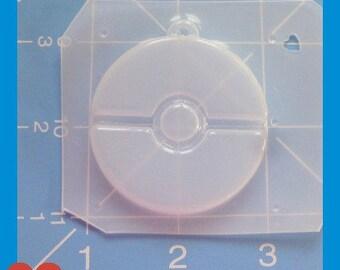 pokeball Flexible Plastic Handmade Resin Mold