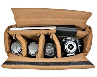 Große Kamera-Einsatz, Kamera-Tasche-Einsatz, großen Einsatz, Dslr-Einsatz, gepolsterte Kamera-Einsatz, Kamera-Einsatz mit Laptop-Fach