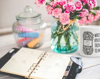 Coffee mug, knit, knitting, crochet, gift for her, mothers day gift, funny coffee mug, gift for knitters, sarcastic gift, gift for grandma