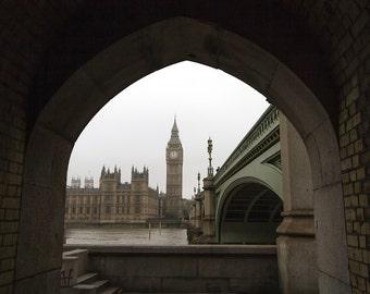 "London photography, London print, London art print, Big Ben, London photo, large photography - ""The Londonist"""