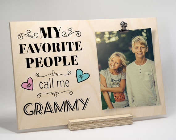 Grandma Picture Frame, Personalized Gift For Grandma, Grandma Gift ...