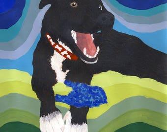 Pet Portrait Origial Art Of Your Animal Companion Custom Commission