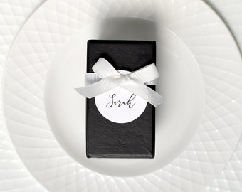 Wedding place tags, Name tags, wedding place cards, wedding tags, wedding favours, favour tags, guest name cards, bomboniere, round tags