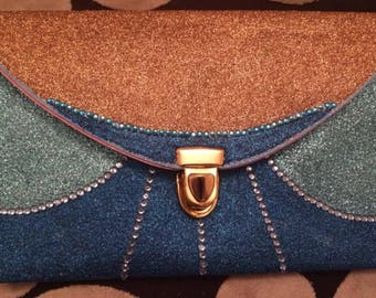 Glass Slipper Princess - Clutch Bag - Fairy Godmother - Wishes Do Come True - Pumkin - Carriage