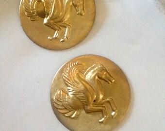 Pegasus Medallion ( 2 pc)