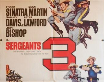 Sergeants 3 - 1962 - Original US one sheet movie poster