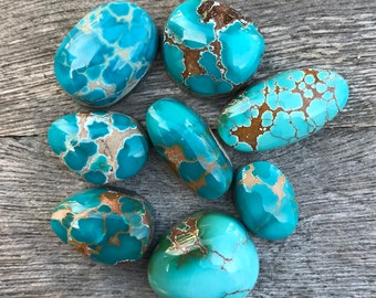 MADE TO ORDER: Pilot Mountain Turquoise Ring or Pendant