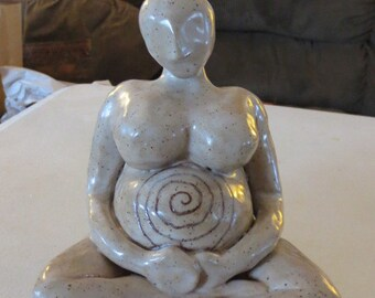 Extra Large Relaxing Pregnant Woman - Made to Order