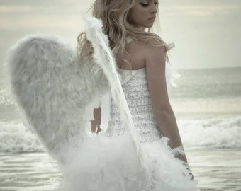 """Large 25 x 25"""" Angel Wings. Photo Prop, Costume, Dress Up"""