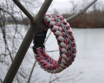 Stylized Paracord Survival Bracelet