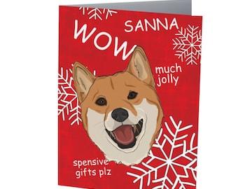 DOGGO CHRISTMAS CARD | Funny Christmas Card