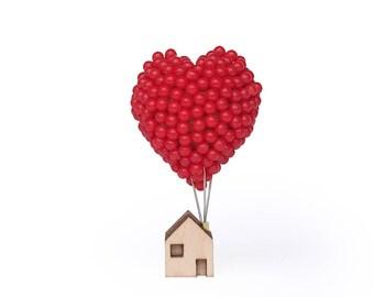 Balloon Pin Heart