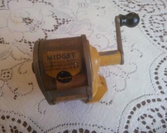 Vintage Pencil Sharpener - Apsco Pencil Sharpener - Midget Pencil Sharpener