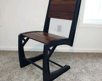 Rustic Industrial Dining Chair