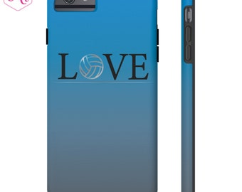 Volleyball LOVE Phone Case, TOUGH iPhone phone case, Samsung phone case