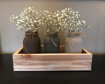 3 jar box centerpiece