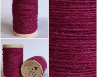 Rustic Moire Wool Thread #352 for Embroidery, Wool Applique and Punch Needle Embroidery